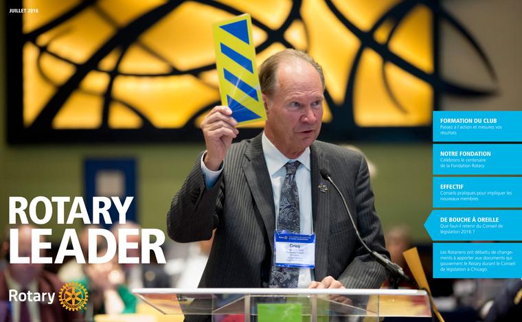 Rotary Leader Juillet 2016